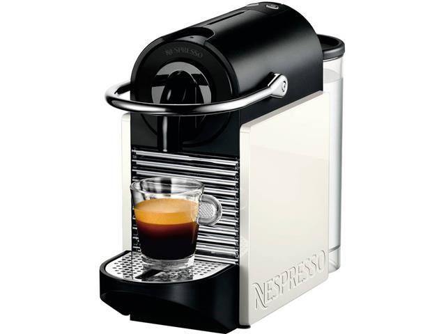 Cafeteira Nespresso Automática Pixie Clips Branca e Coral Neon - 1