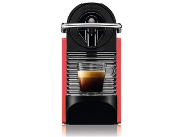 Cafeteira Nespresso Automática Pixie Clips Branca e Coral Neon - 8