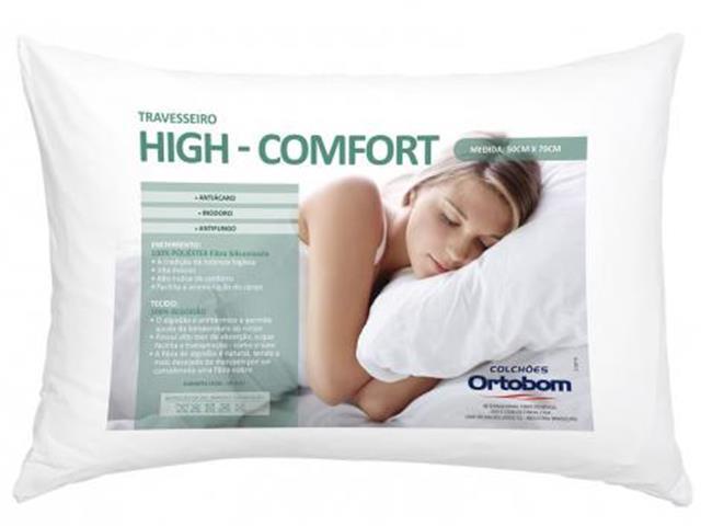 Travesseiro Ortobom Hi Confort