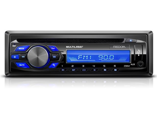 MP3 Player Automotivo com Rádio FM Multilaser Freedom