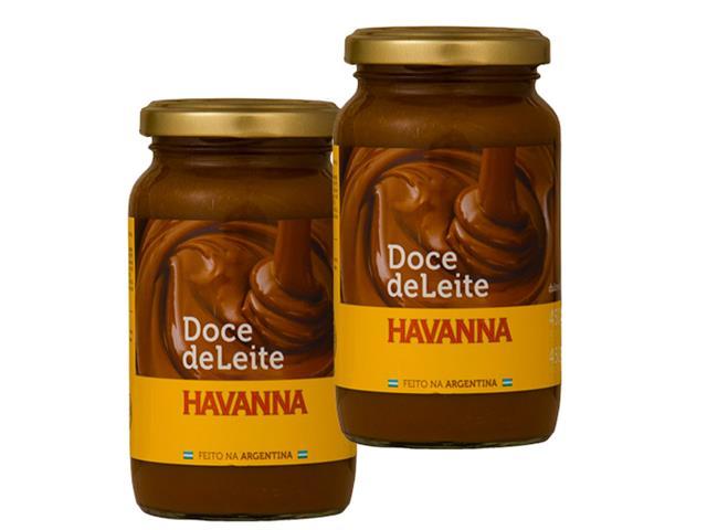 Combo 2 Doce de leite Havanna 450 g cada