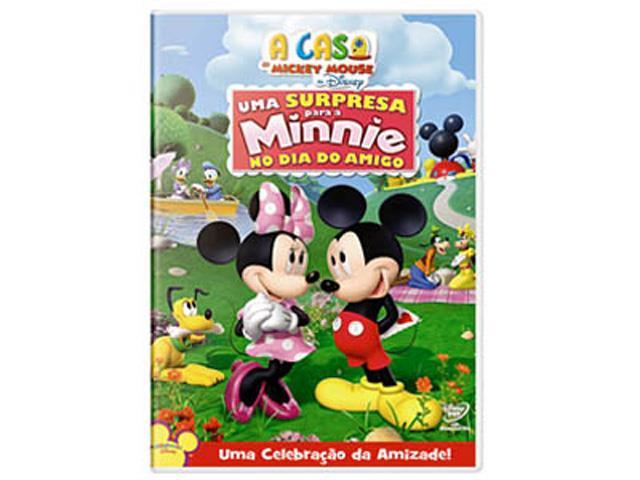 Uma Surpresa para a Minnie no Dia do Amigo