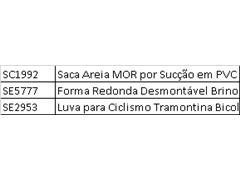 Saca Areia MOR por Sucção em PVC - 3