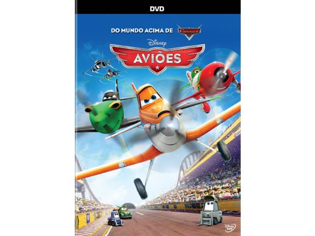 DVD Aviões Disney
