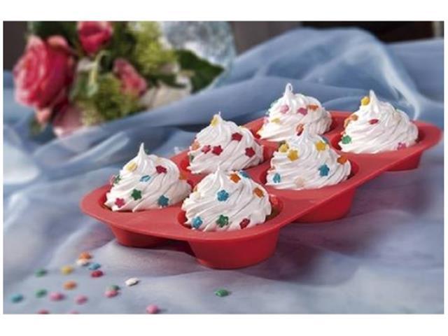 Assadeira de Silicone para Cupcake e Muffin Mor - 4