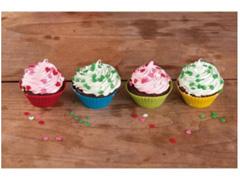 Kit 12 Formas de Silicone MOR para Cupcake e Muffin Coloridas - 2