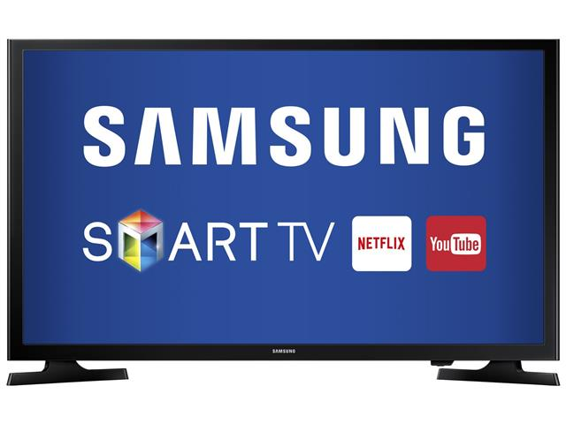 "Smart TV LED 43"" Full HD Samsung Conv. TV Digital 2 HDMI 1 USB WiFi"