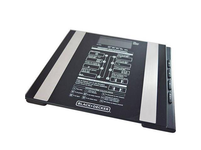 Balança Digital Vidro Banheiro Black&Decker Funções Especiais 180Kg - 2