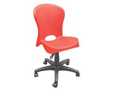 Cadeira Tramontina Rodizio Jolie Vermelha