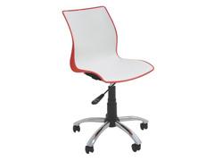 Cadeira Tramontina Rodizio Maja Branca/ Vermelha