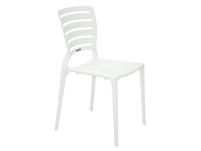 Cadeira Tramontina Sofia Encosto Vazado Horizontal Branca - 2