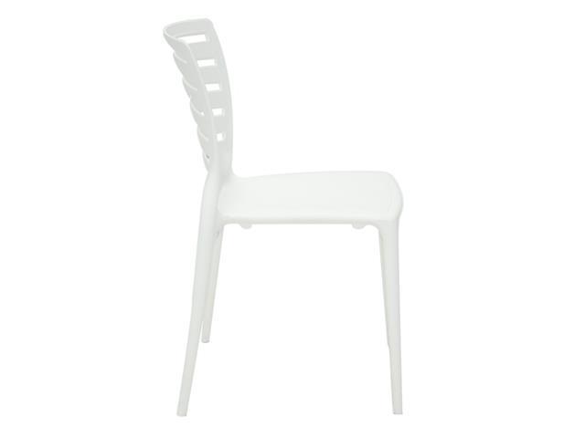 Cadeira Tramontina Sofia Encosto Vazado Horizontal Branca - 3