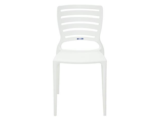 Cadeira Tramontina Sofia Encosto Vazado Horizontal Branca - 1