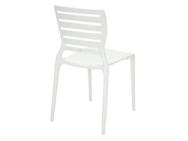 Cadeira Tramontina Sofia Encosto Vazado Horizontal Branca - 4