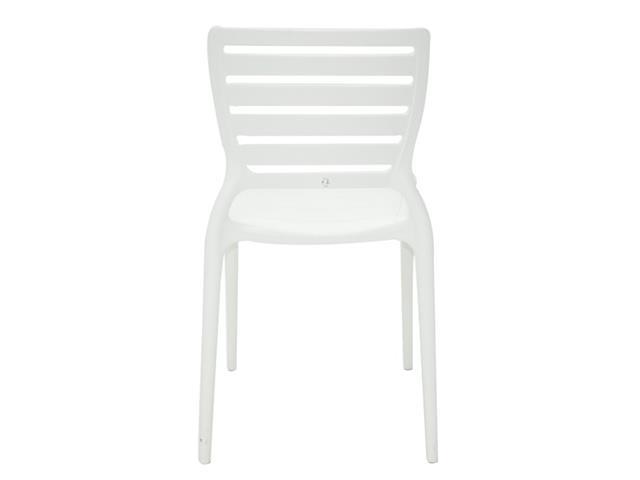 Cadeira Tramontina Sofia Encosto Vazado Horizontal Branca - 5