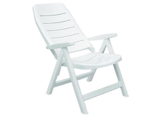 Cadeira/Poltrona Tramontina Iracema Encosto Alto Branca