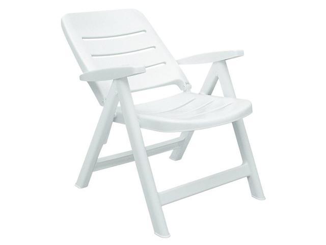 Cadeira/Poltrona Tramontina Iracema Encosto Baixo Branca