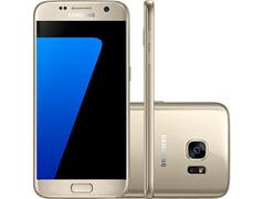 "Smartphone Samsung Galaxy S7 4G Tela 5.1""32GB Android 6.0 12MP Dourado"