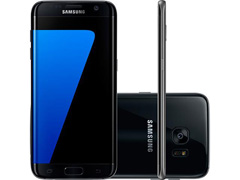 "Smartphone Samsung Galaxy S7 Edge 4G Tela 5.5"" 32GB Android 6.0 Preto"