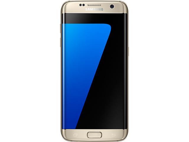 "Smartphone Samsung Galaxy S7 Edge 4G Tela 5.5""32GB Android 6.0 Dourado - 1"