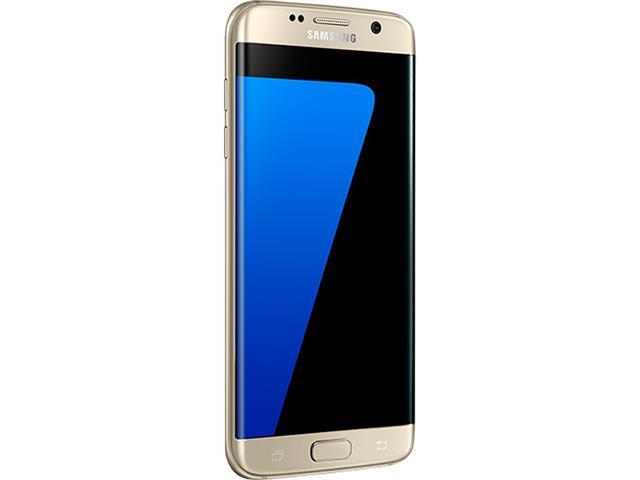 "Smartphone Samsung Galaxy S7 Edge 4G Tela 5.5""32GB Android 6.0 Dourado - 3"