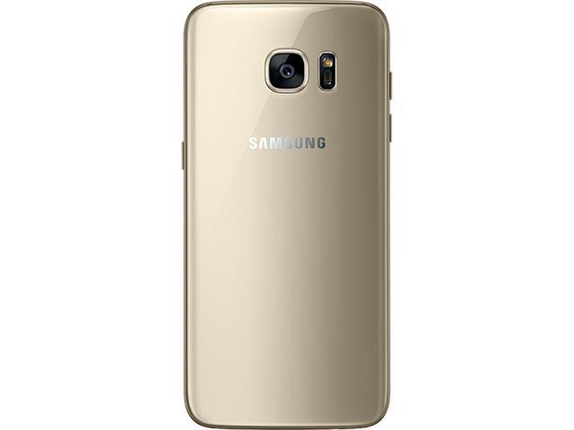 "Smartphone Samsung Galaxy S7 Edge 4G Tela 5.5""32GB Android 6.0 Dourado - 4"