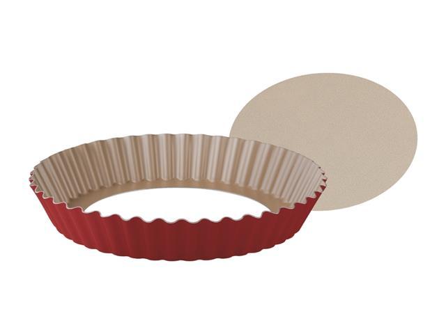 Forma para Torta e Bolo com Fundo Removível Tramontina 24 cm