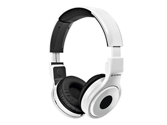 Fone de Ouvido Mondial Branco Head Phone