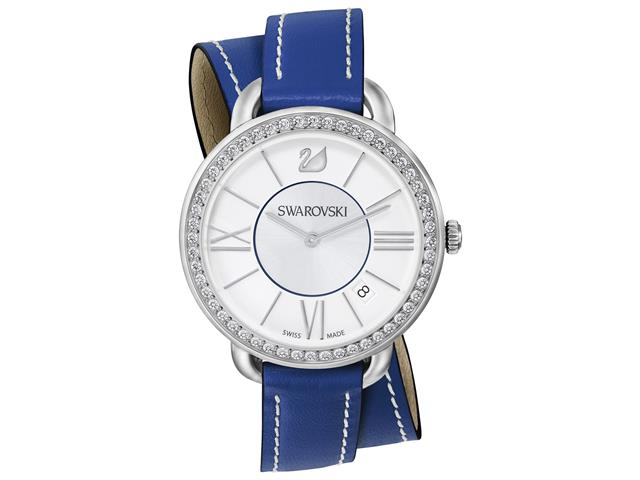 a050447c4cd Relógio Duplo Swarovski Aila Day Azul Feminino