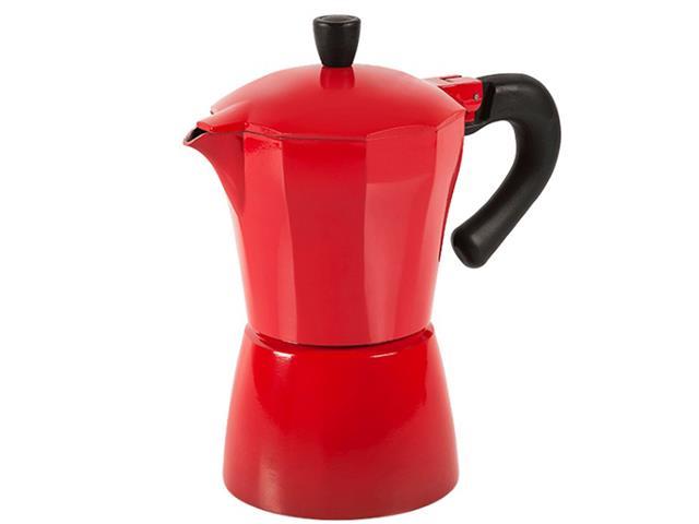 Cafeteira Brinox Verona 6 Xícaras Vermelha 300ml
