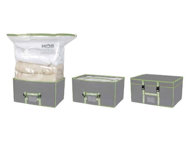 Caixa com Organizador a Vácuo MOR 90 x 38 x 100 cm - 4