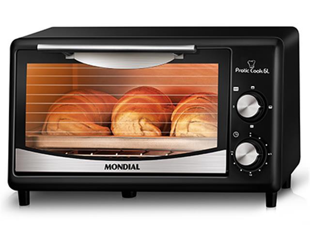 Forno Elétrico Mondial Pratic Cook 6L 220V - 4