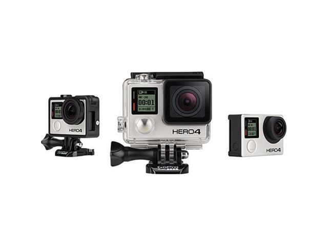 Câmera Digital GoPro Hero 4 Black Edition 12MP Grava 4K WiFi Bluetooth - 1