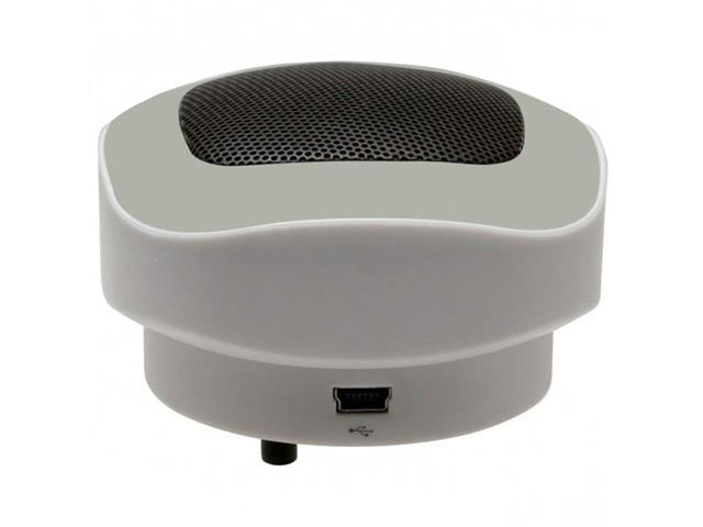 Mini Amplificador com porta Usb Cinza GD67 Domani