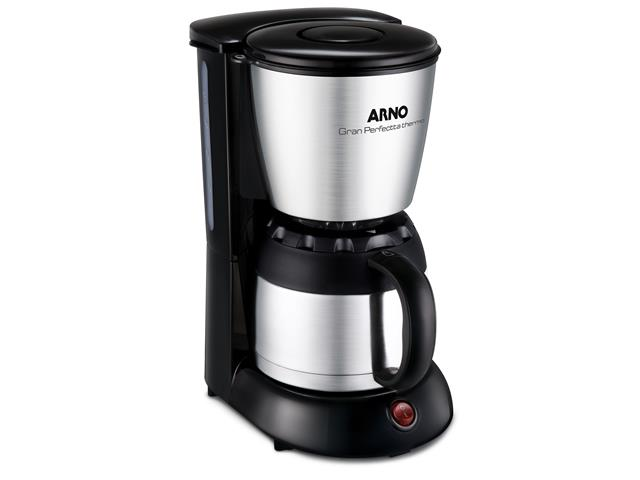 Cafeteira Elétrica Arno Gran Perfectta Thermo Inox 110V