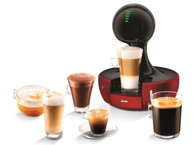 Cafeteira Expresso Nescafé Dolce Gusto Drop Vermelha 220V Arno
