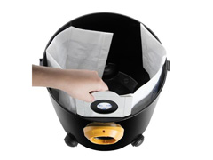 Aspirador de Pó e Água Arno 10L Preto/Amarelo - 4