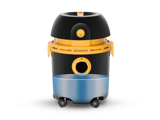 Aspirador de Pó e Água Arno 10L Preto/Amarelo - 5