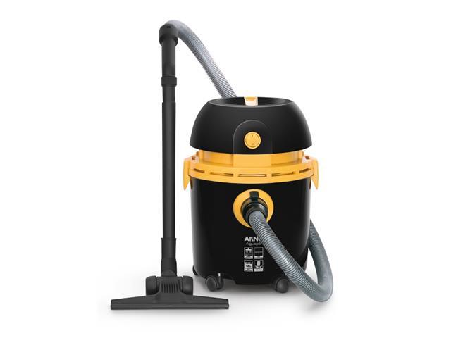 Aspirador de Pó e Água Arno 10L Preto/Amarelo 110V