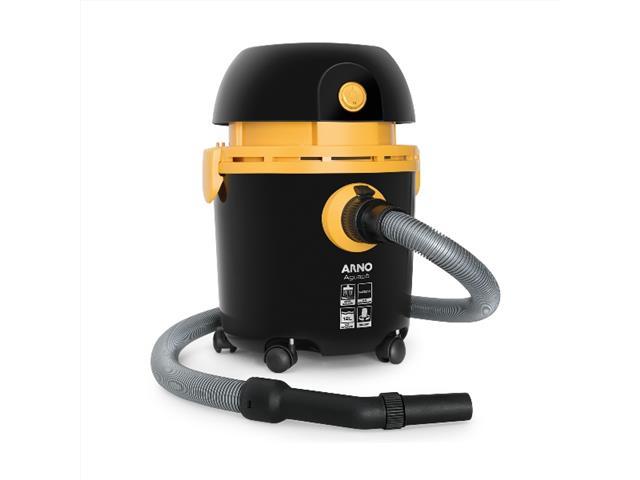 Aspirador de Pó e Água Arno 10L Preto/Amarelo 110V - 1
