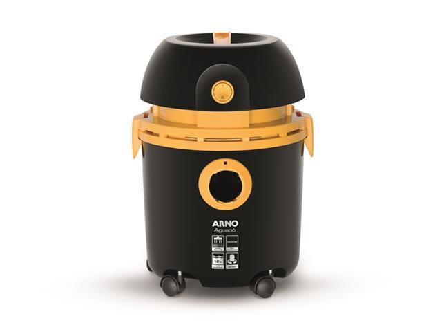 Aspirador de Pó e Água Arno 10L Preto/Amarelo 110V - 3