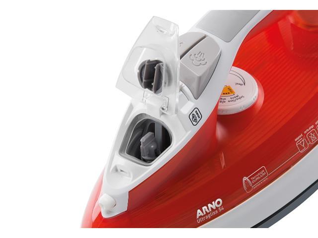 78ab4e0da Ferro a Vapor Arno Ultragliss FU54 Corta Pingos Vermelho - Shopping ...