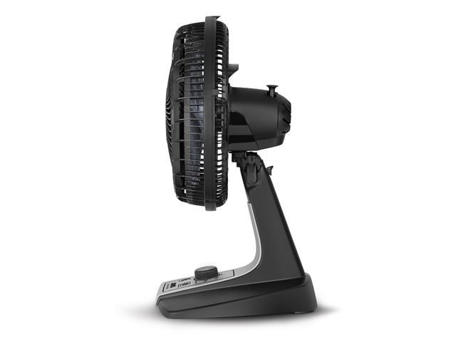 Ventilador de Mesa Arno Silence Force Preto e Prata 30cm - 5