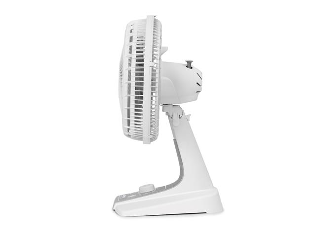 Ventilador de Mesa Arno Silence Force Silver Branco e Prata 30cm 110V - 2