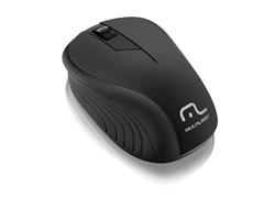 Mouse Sem Fio USB Preto Multilaser