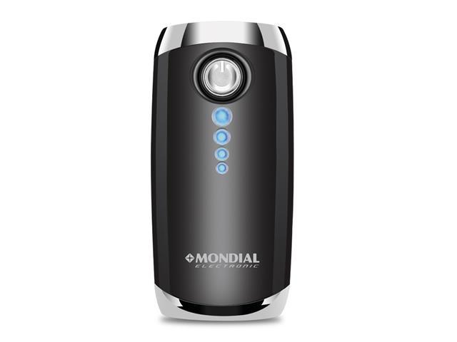 Carregador Bateria Power bank Portátil 4000mAh C/Lanterna Mondial - 1