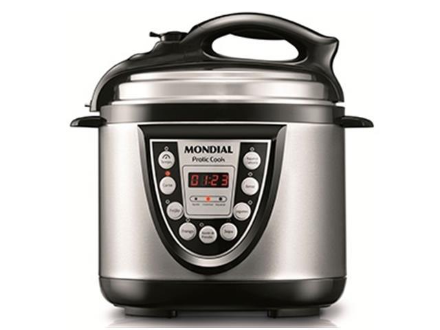 Panela de Pressão Elétrica Mondial Pratic Cook 4L