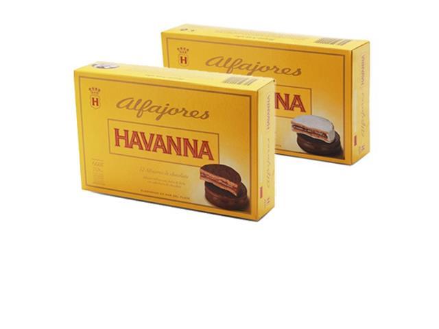 Combo Alfajor com 2 caixas de 12 unidades Sortidas e Chocolate Havanna