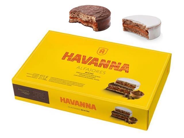 Combo Havanna Alfajores Chocolate e Mistos - 12 Unidades Cada Caixa - 2