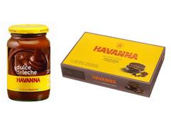 Combo Alfajor Chocolate 12 unid + Doce de Leite 450 g Havanna